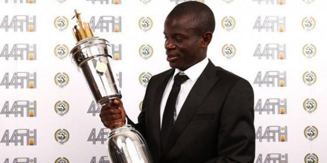 كانتي يتوّج بجائزة أفضل لاعب في الدوري الإنكليزي