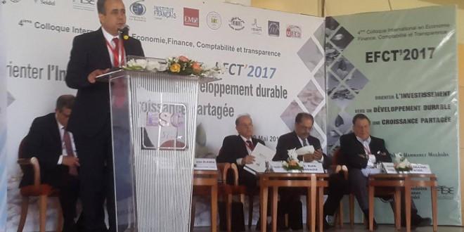 """بالمدرسة العليا للتجارة بصفاقس: الملتقى الدولى الرابع حول """"توجيه الاستثمار نحو تنمية دائمة ونمو متكافئ"""""""