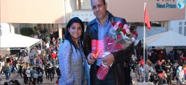 فى لمسة وفاء: طلبة المدرسة العليا للتجارة بصفاقس يكرمون مديرها السيد رشدي الفقي