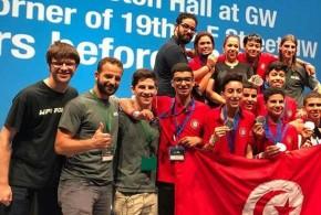 بمشاركة 163 دولة: شباب صفاقس يتوجون بالذهبي في أولمبياد الروبوتات بواشنطن