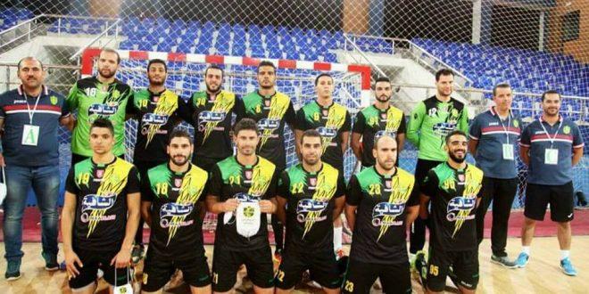 للمرة الثانية على التوالي: نادي ساقية الزيت يتوج بالبطولة العربية لكرة اليد
