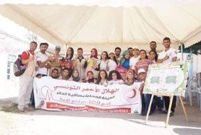 الهيئة المحلية للهلال الاحمر التونسي بساقية الدائر : نشاط ثري وحلم واعد نحو التميز