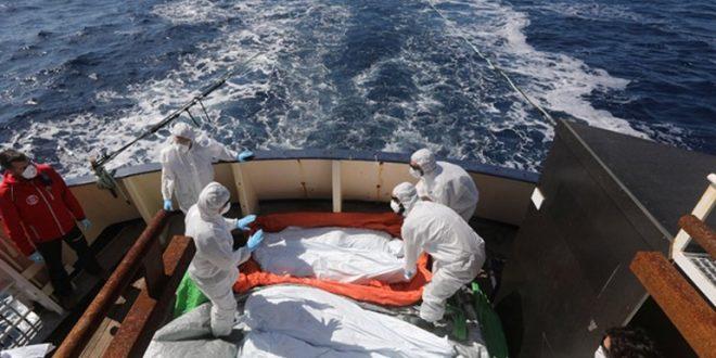 خلال ال 24 ساعة المنقضية : انتشال 20 جثة في حادثة اصطدام وحدة بحرية بمركب