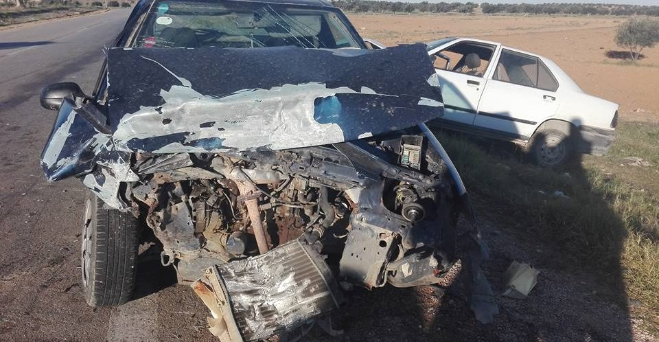 صفاقس: حادث مرور يسفر عن وفاة امراة واصابة 3 اشخاص اصابات خطيرة