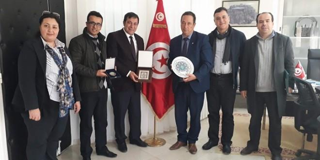 اتفاقية تعاون بين جامعة صفاقس و جامعة سلجوك التركية