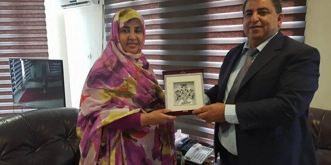 إمضاء اتفاقية تعاون وشراكة بين بلدية صفاقس والمجموعة الحضرية بنواكشوط