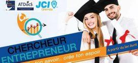 """الغرفة الفتية العالمية الاقتصادية قرمدة تطلق تظاهرة"""" """"CHERCHEUR-ENTREPRENEUR"""""""