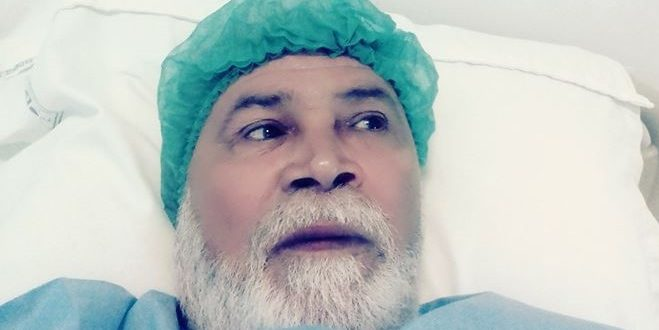 الممثل القدير الأزهر بوعزيزي يجري عملية جراحية