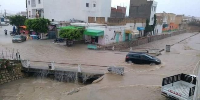 تعرّف على كميات الأمطار خلال الـ 24 ساعة الماضية: بلغت 297 مليمتر في بني خلاد