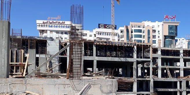 بلدية صفاقس توقف اشغال بناء المقسم 23 ا