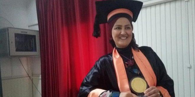 بملاحظة حسن جدا: الزميلة الاعلامية والباحثة عائشة بيّار تتحصل على شهادة الماجستير في الصحافة