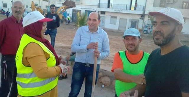 منطقة الحفارة بصفاقس: حملة نظافة مميزة بمشاركة متساكني الجهة