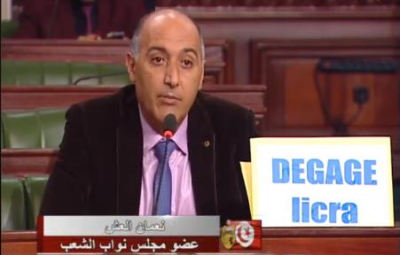 النائب نعمان العش: نطالب بتوضيح موضوع  التطبيع في العلاقة بمنظمة LICRA
