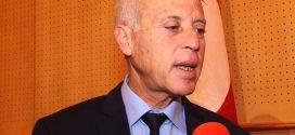 قيس سعيد يعلن عزمه الترشح للانتخابات الرئاسية القادمة