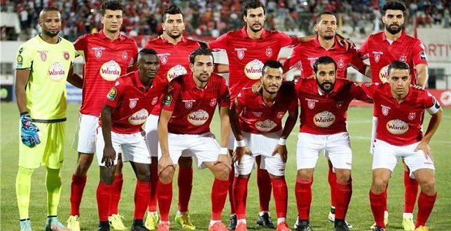 تشكيلة النجم الساحلي في مواجهة الرجاء المغربي اليوم