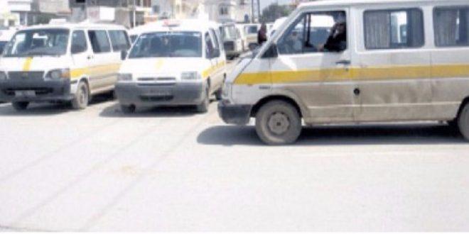 صفاقس: أصحاب سيارات النقل الريفي في إضراب عن العمل يوم 14 مارس القادم