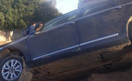 صفاقس: حادث مرور كاد أن يؤدي بحياة مواطن نتيجة تدهور البنية التحتية