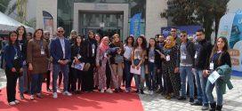 صفاقس : طلبة قسم علوم الأرض بكلية العلوم في زيارة للصالون المتوسطي للبناءMEDIABT