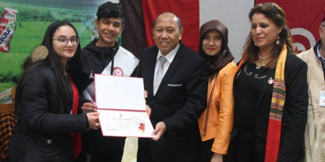 سفير أندونيسيا بتونس اكرار نوزا بهاكتي يحّل ضيفا بمعرض صفاقس لكتاب الطفل(صور)