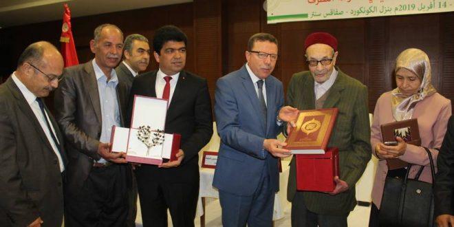 صفاقس: وزير الشؤون الدينية يكرّم الشيخ التوفيق الكرايّ