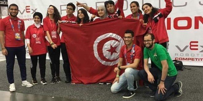 تلاميذ من صفاقس يحرزون على جائزة التحكيم في بطولة العالم للروبوتيك بالولايات المتحدة