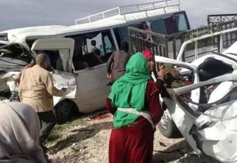 القصرين: حادث مرور يسفر عن 3 وفيات و15 جريحا